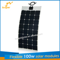 2014 la venta caliente semi paneles solares flexibles de la fábrica de China directamente