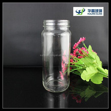 Jam Use and Glass Body Material 330ml Glass Jam Jars