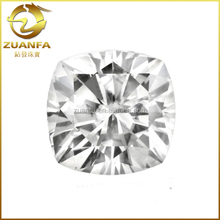 wholesale D-E color VVS1 synthetic forever brilliant moissanite cushion