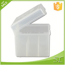 plastic box with 3 compartments
