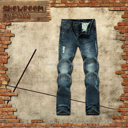 Garment buying house in dubai Ripper jeans men American brand clothes Colorants of denim jeans