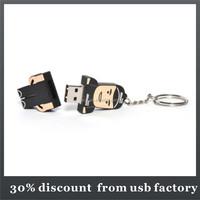 high quality 8GB people shape pvc usb flash drive