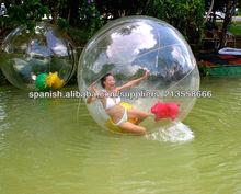 globos de agua gigantes para la promoción