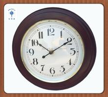 2015 large size bulk antique pendulum wooden wall clock