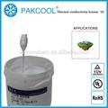 Bajo térmico impedancia térmica silicona conductiva pasta grasa en tubos con uso led