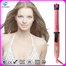 Pro Automatic Perfect hair Curl electric Hair curler with free sample 2015