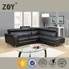 2015 latest modern design cornor sofa sets L shape sofa cover ZOY-98360
