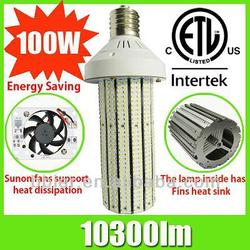E40/E27 100w 110lm/w UL meanwell driver 300w halogen lamp led replacement high brighness cool white