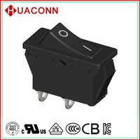 HS9-C2-01H500-BB03 new style manufacture rocker switch aluminum panel