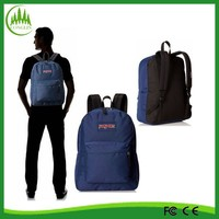 China promotional OEM quality factory 16 inch good price student polyester backpack school bag