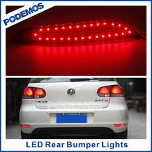 PODEMOS car rear led tail light car led tuning lights modified led car lights for VW Golf 6/7 2010~ON