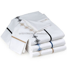 morden home hotel use cotton luxury sheet set