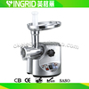 1800W aluminium housing meat grinder AMG198