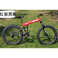 best selling folding fat tyre bike snow bike 4.0 big tyre bicycle