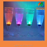 LED Lighting Glow Champagne Glass Flutes Glasses Wine Bar BBQ Light Up Glowing Cups Lights