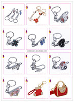 OEM key chain as your request handmade metal custom key chain key holder
