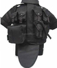 tactical vest with pouches modular bullet-proof vest wargame airsoft vest military supplies