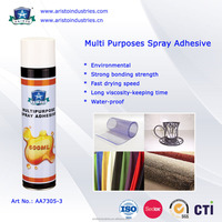 Non-toxic and waterproof spray adhesive, muti purposes spray adhesive