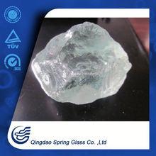 High Crystal White Glass Rocks 20-50mm,50-80mm,etc.