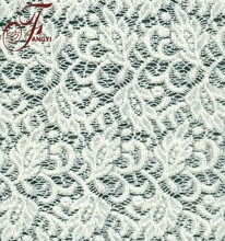 High Quality Garment Material Smooth Knitted Nylon Acrylic Wool Lace Fabric