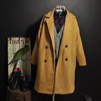 2015 winter newest luxury double-breasted long ladies overcoats in plus size for women winter&fall coat new design lady overcoat