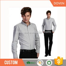 High quality Men's cotton shirts Custom men's formal shirts