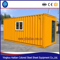 Modular moving house for restaurant, container house, prefabricated container restaurant