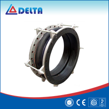 Rubber With Flanges Telescopic Expansion Joint