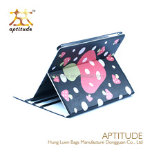 2015 NEW 360 Rotating PU Leather laptop Case