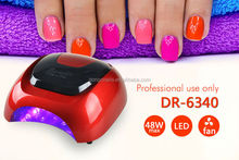 Newest Elegant led gel nail curing lamp 18w