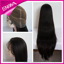 34 inch Long Hair China Sex Woman Super Fine Swiss Lace Wig