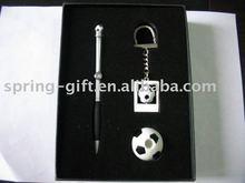 foot ball Gift pen set