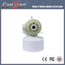 Wireless Cmos Sensor P/T Micro IR Night Vision Easy To Install P2P IP Camera 720P