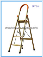 industrial step ladder,4 step ladder with safety rail
