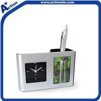 penholder quartz alarm clock