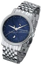 Unique starry sky design dial watches men automatic mechanical men's luxury watch