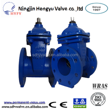 cast iron/ductile iron pn10/pn16 flanged end stem gate valve