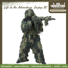 TA1-017True Adventure Wholesale 2015 Hotsale Hunting Sniper Ghillie Camo Sniper Suit for hunting