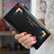 New Model Evening Party Ladies Purses/Fashion Wholesale Flowers Printing Woman Wallet/Festival gift