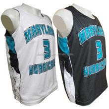 Fashionable hot sell new style basketball uniform design