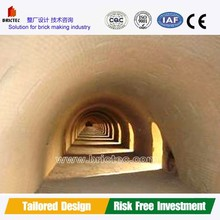 modern fire clay brick hoffman kiln with engineer installation and technical training