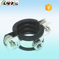 steel galvanized rubber high pressure hose clamps