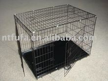 Black Metal Wire Dog Cage