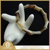Fashion Jewelry 2015 bamboo shape agate bracelet for gift