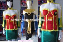 2014 instyles sexy super hero costume superhero fancy dress with costume mask hood foot cover