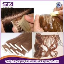 Best selling heat resistant tape hair extension bangs