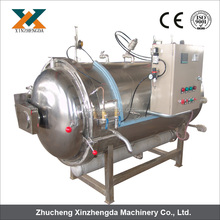 hot water spraying autoclave retort for food sterilizing