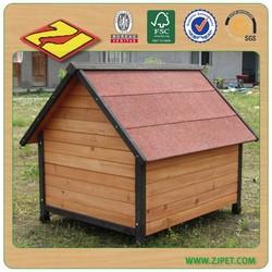 dog kennel with veranda DXDH011