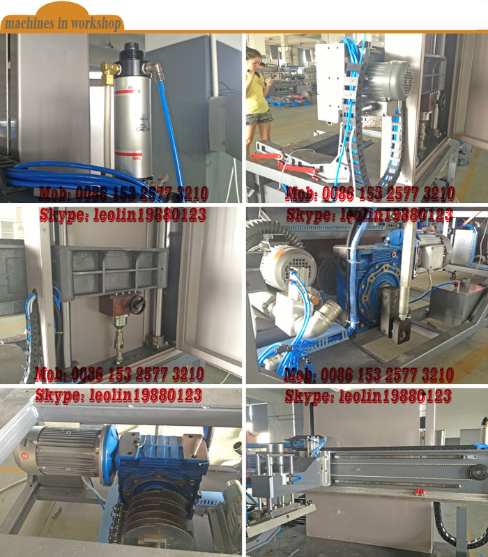 2014 Advanced glass silk screen printing machine