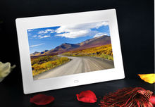 10'' TFT LCD screen 1024*768 digital photo frame 16:9 full function picture music movie player china supplier